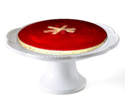 Gâteau à l'avocat et glaçage aux framboises