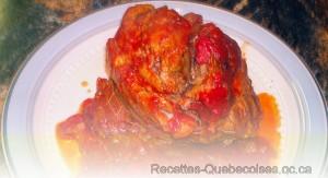 Rôti de Porc dans Sauce à Spaghetti de Françoise