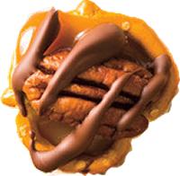 Noix de pacanes au caramel chocolat